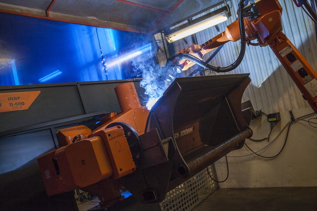 Robotsvetsning tillhörande Rotage maskinpark