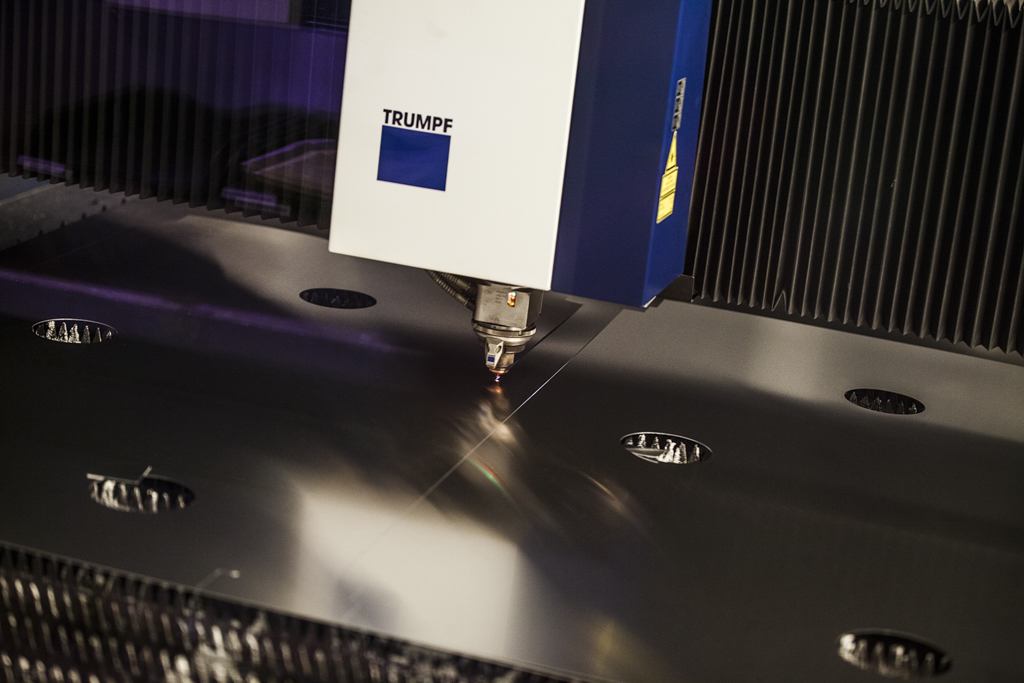 Lasermaskiner tillhörande Rotage maskinpark